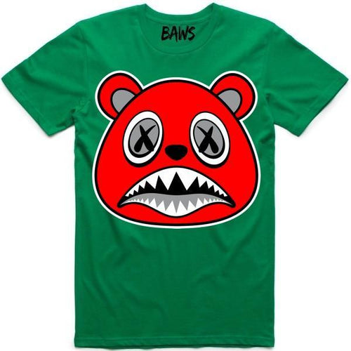 Baws T-Shirt Angry Baws Kelley Green Shirt