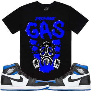 PG T-Shirt Jordan Retro 1 Game Royal 2020 Sneaker Tees Shirts - GAS PG