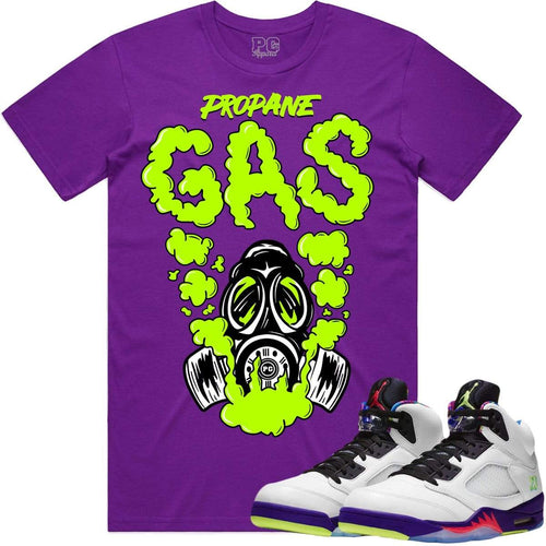 PG T-Shirt Jordan Retro 5 Bel Air Sneaker Shirt Tees to Match - GAS PG