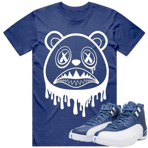 Sneaker Clothing Shirts T-Shirt BAWS DRIP - Jordan Retro 12 Indigo Sneaker Shirt Tees to Match