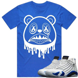 Sneaker Clothing Shirts T-Shirt BAWS DRIP - Jordan Retro 14 Hyper Royal Blue Sneaker Shirt Tees to Match
