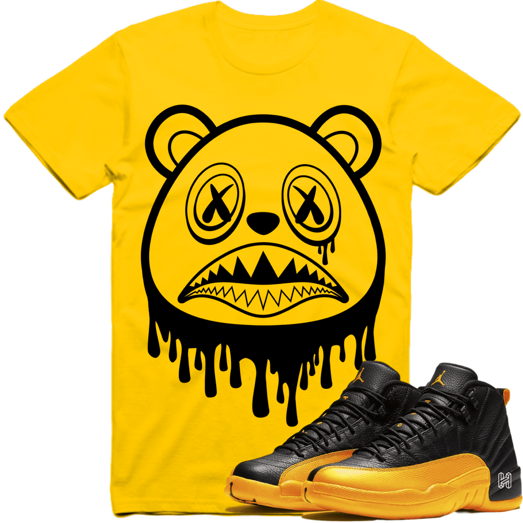 Sneaker Clothing Shirts T-Shirt Jordan retro 12 University Gold Gary Payton Sneaker Tees Shirt to Match - BAWS DRIP
