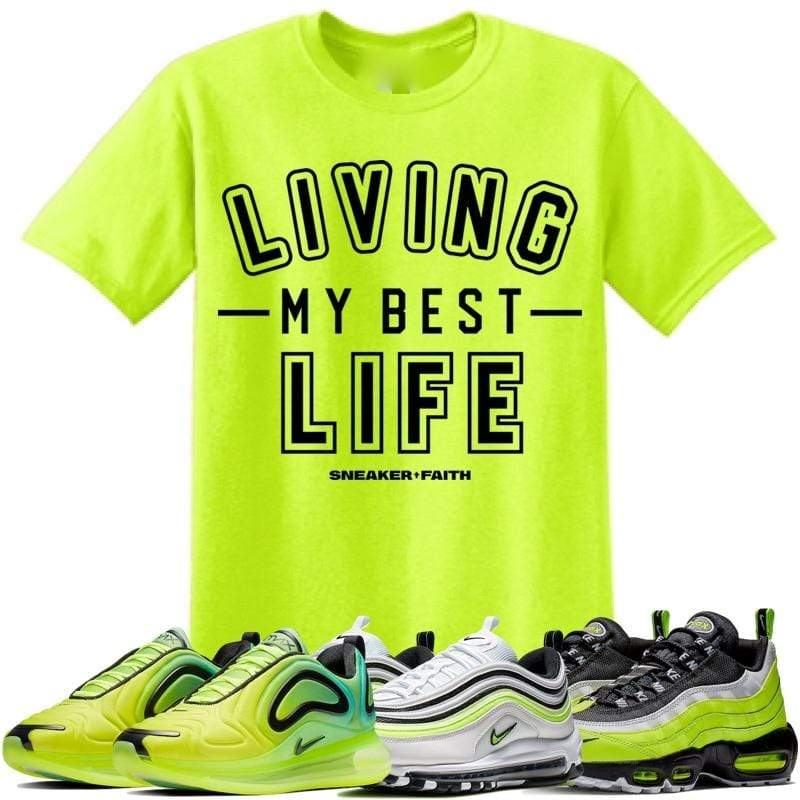 Sneaker Clothing T-Shirt Air Max Volt 95 97 720 Sneaker Tees Shirt to Match - BEST LIFE