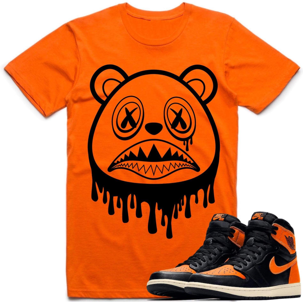 Sneaker Clothing T-Shirt BAWS DRIP Sneaker Tees Shirt to Match - Jordan Retro 1 Shattered Backboard 2019