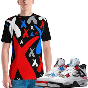 XGear101.com Baws All Over Print (Cement) T-Shirt - Jordan Retro 4 What the Cement