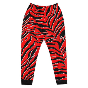 XGear101.com S Baws All Over Print Joggers (Red Tiger)