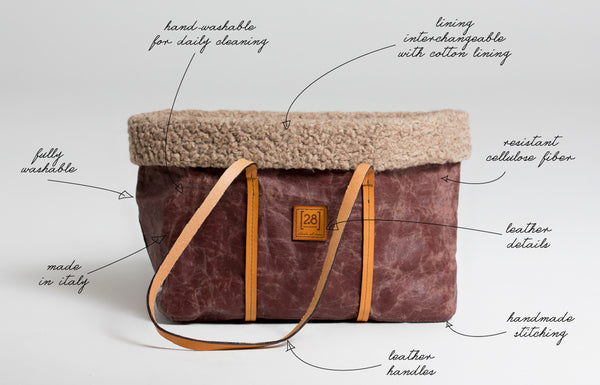 waxed cellulose dog bag