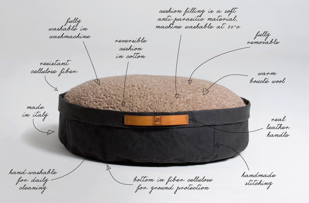 Round Dog Cushion