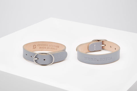 Nero & Sofia Taupe Abbracci Collection Bracelet