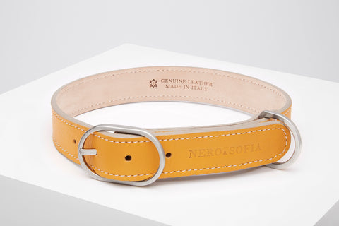 Nero & Sofia Taupe Abbracci Collection Dog Leash