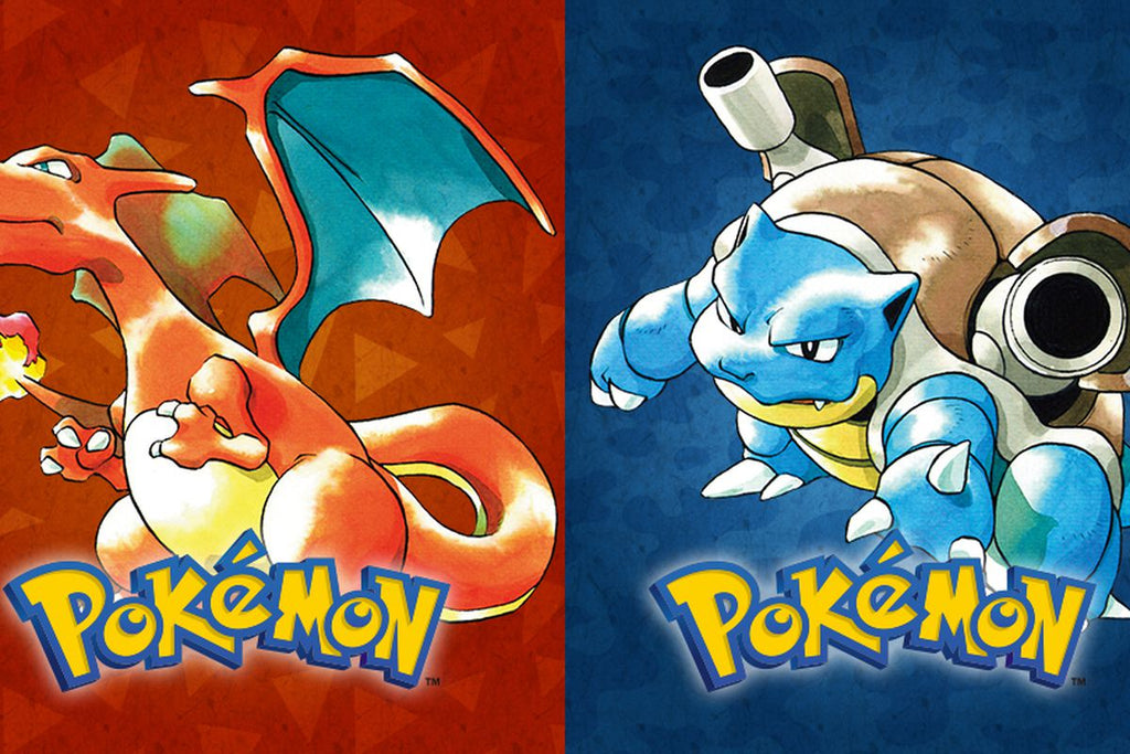 Pokemon Red / Blue now 20 years old