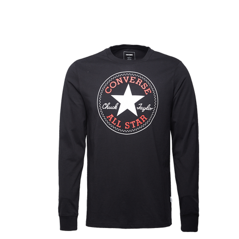 Converse Chuck Patch Long Sleeve Men's Printed Tee