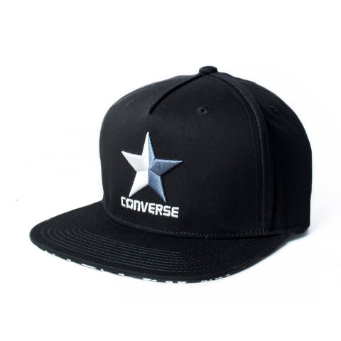 Converse Embroidered Snapback Cap