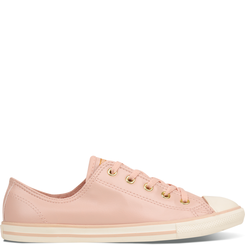 Converse Chuck Taylor All Star Dainty Women's Craft Leather Low Cut