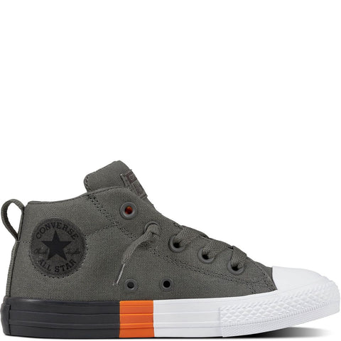Converse Chuck Taylor All Star Colorblock Street Youth Canvas Mid Cut