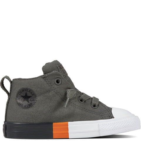 Converse Chuck Taylor All Star Colorblock Street Toddler Canvas Mid Cut