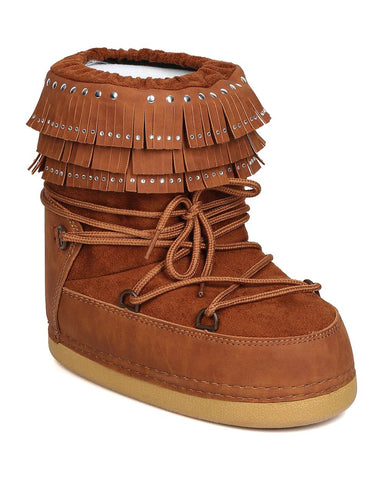 Fringe Moon Boots - Assorted Colors