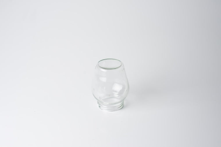 Glass top, clear