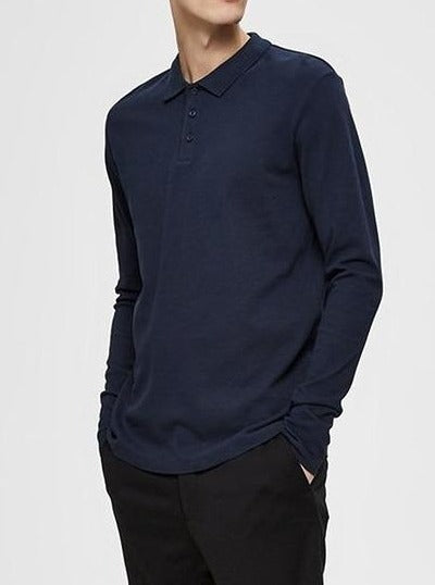 LONG POLO BLUE