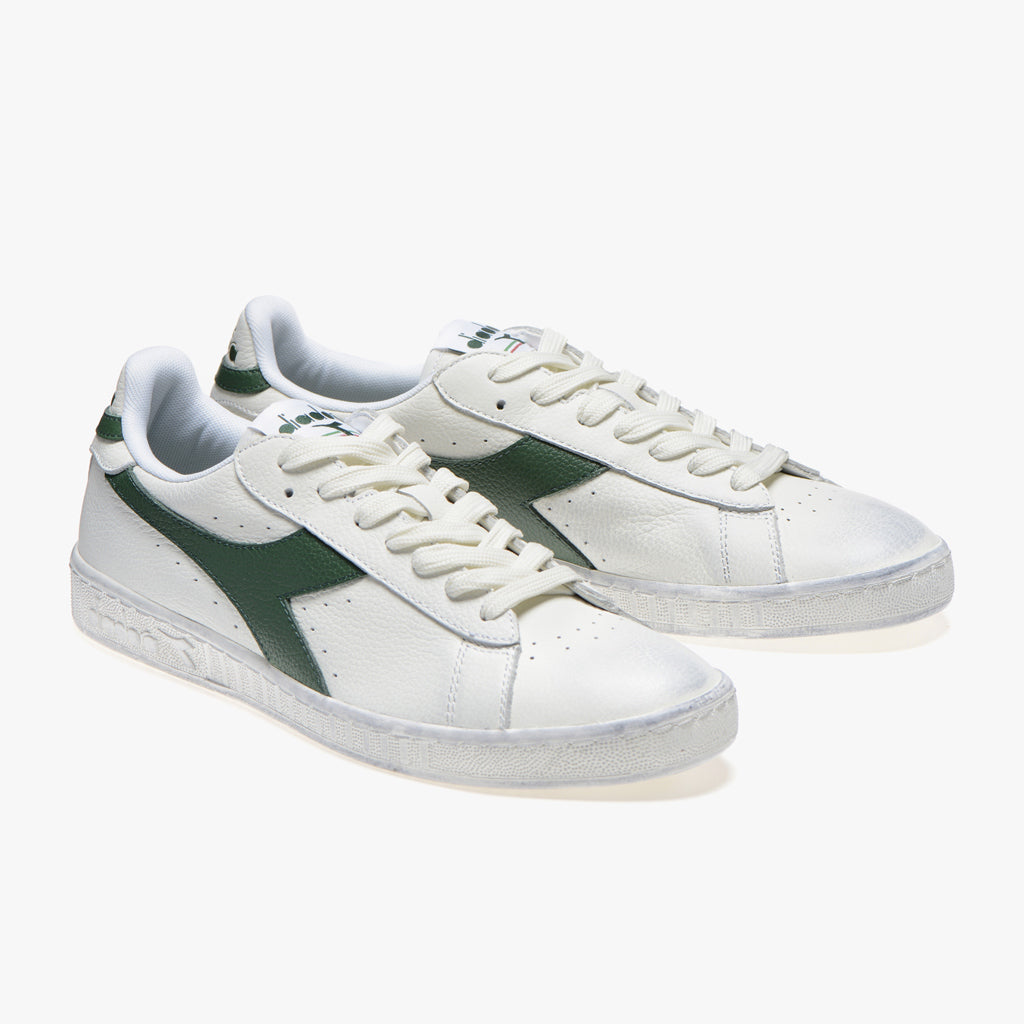 GAME LOW WAXED WHITE GREEN