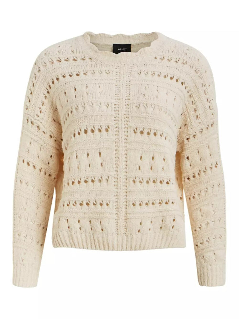 CLARISSA SWEATER WHITE