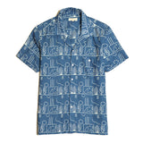 SELLECK SHIRT BLUE PUEBLA PRINT