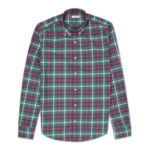 Camisa Terry Green Red Check