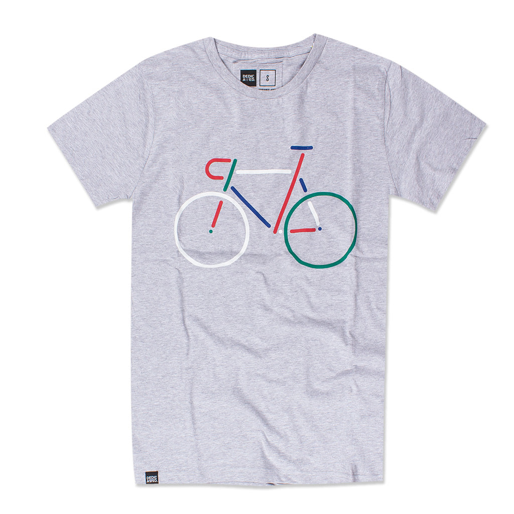 COLOUR BIKE T-SHIRT