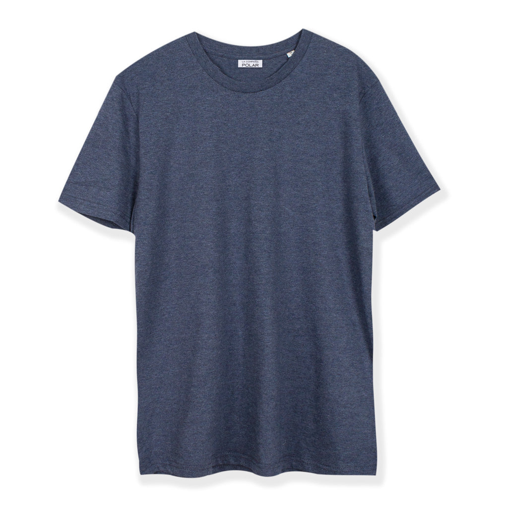 BEAT T-SHIRT HEATHER BLUE
