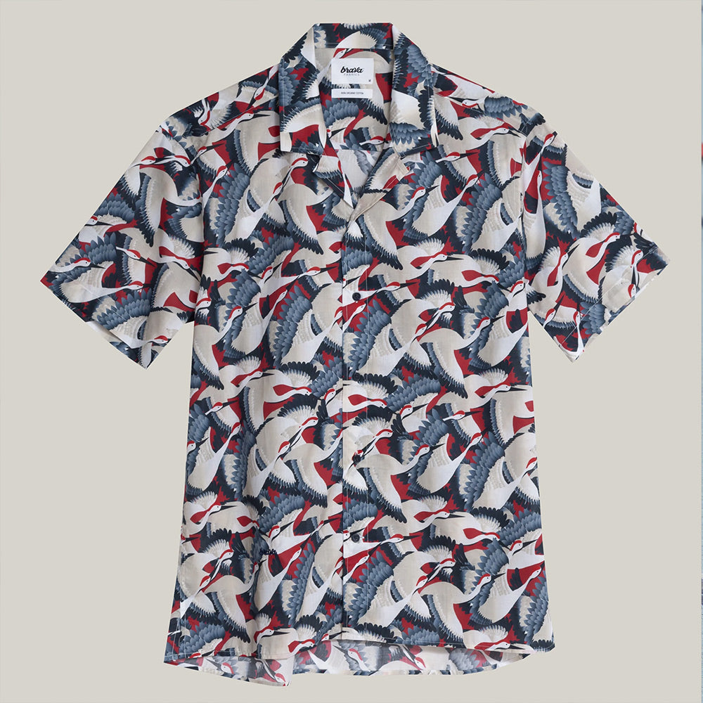 ALOHA CRANE FOR LUCK SHIRT