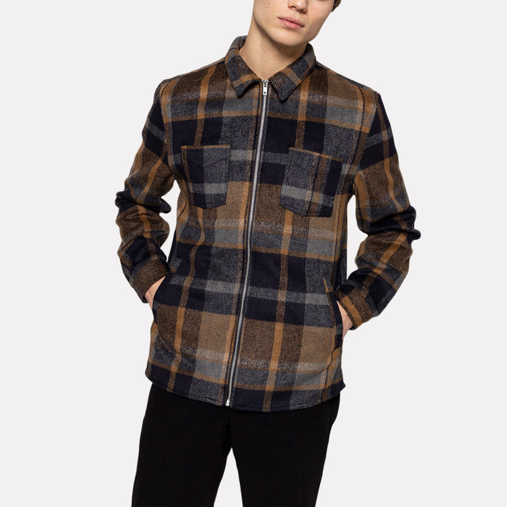 OVERSHIRT ZIP CHECK