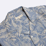 SELLECK SHIRT BLUE SALINES PRINT