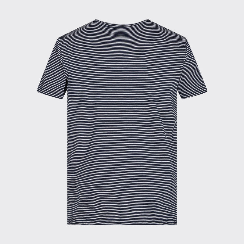 LUKA T SHIRT WHITE NAVY