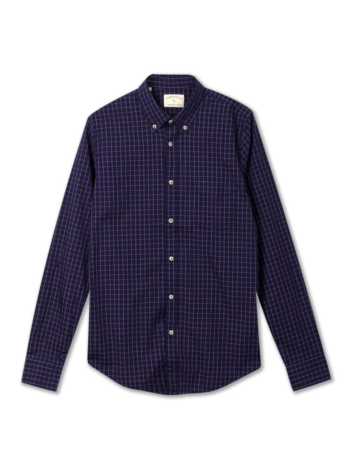 CITY SHIRT NAVY CHECK