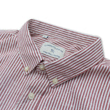 TERRY SHIRT RED STRIPE