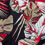 TROPICAL BLOUSE BLACK