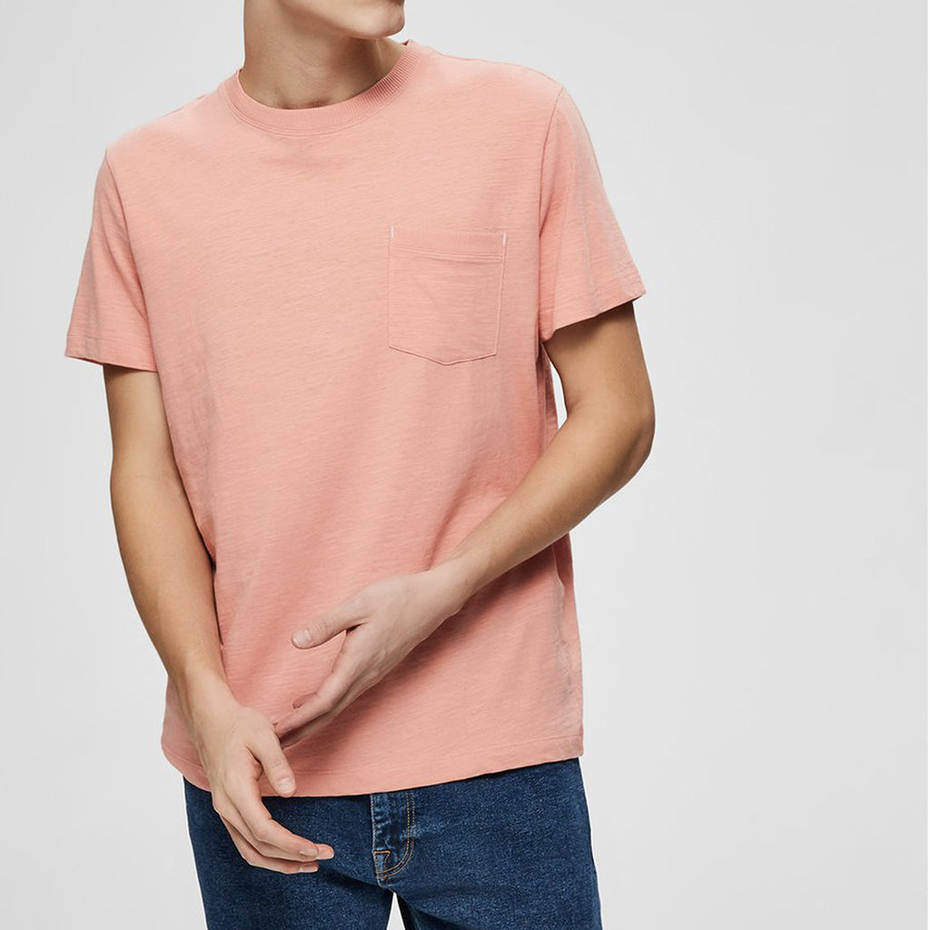 POCKET T SHIRT PINK