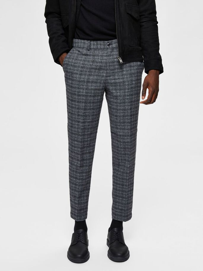 SLIM TAPERED PANT CHECK