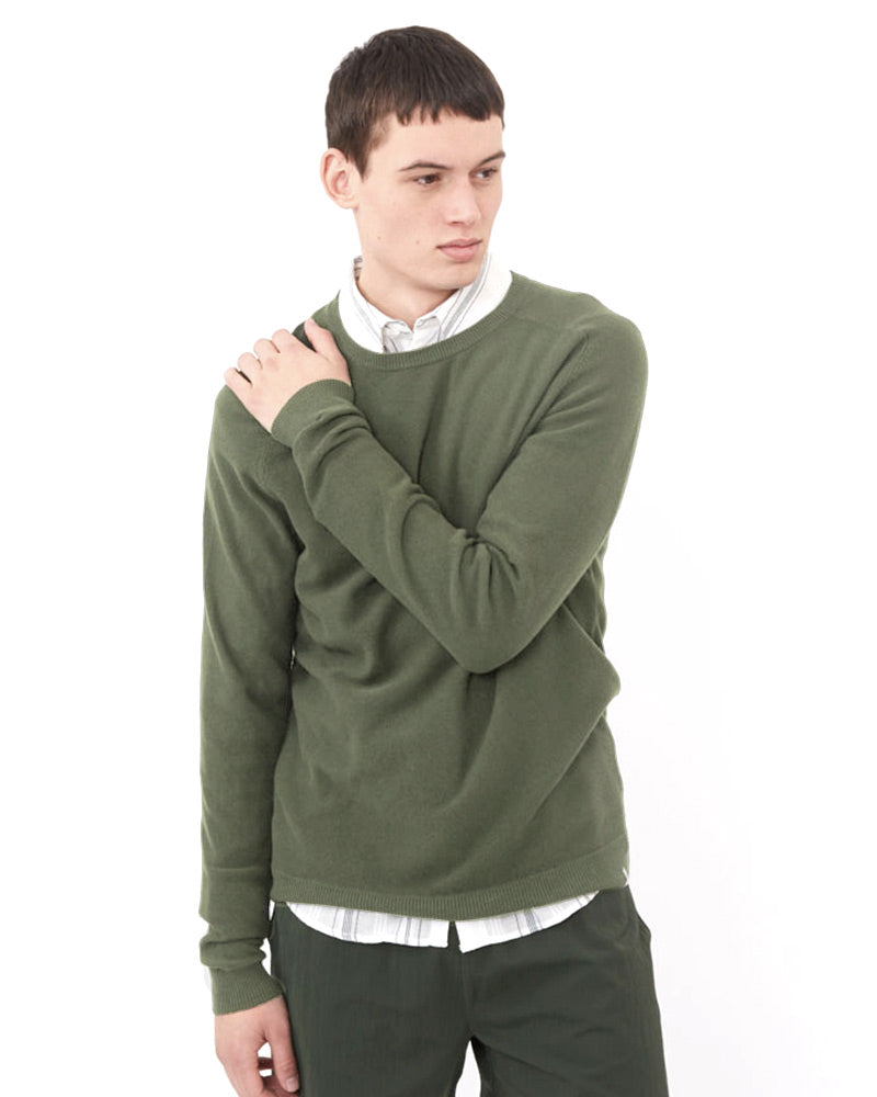 CURTH SWEATER LIGHT GREEN