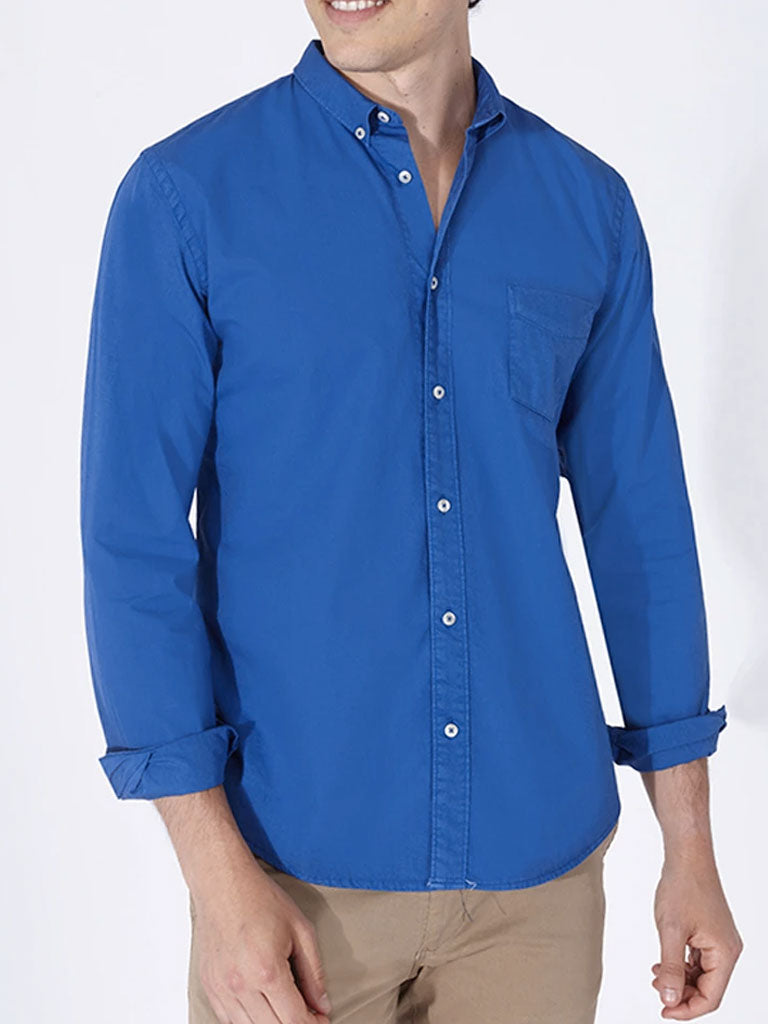 TERRY SHIRT SOLID KLEIN