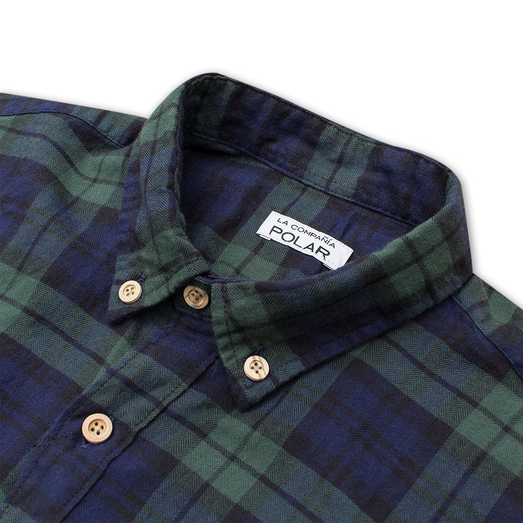 ROAD SHIRT LUMBER GREEN
