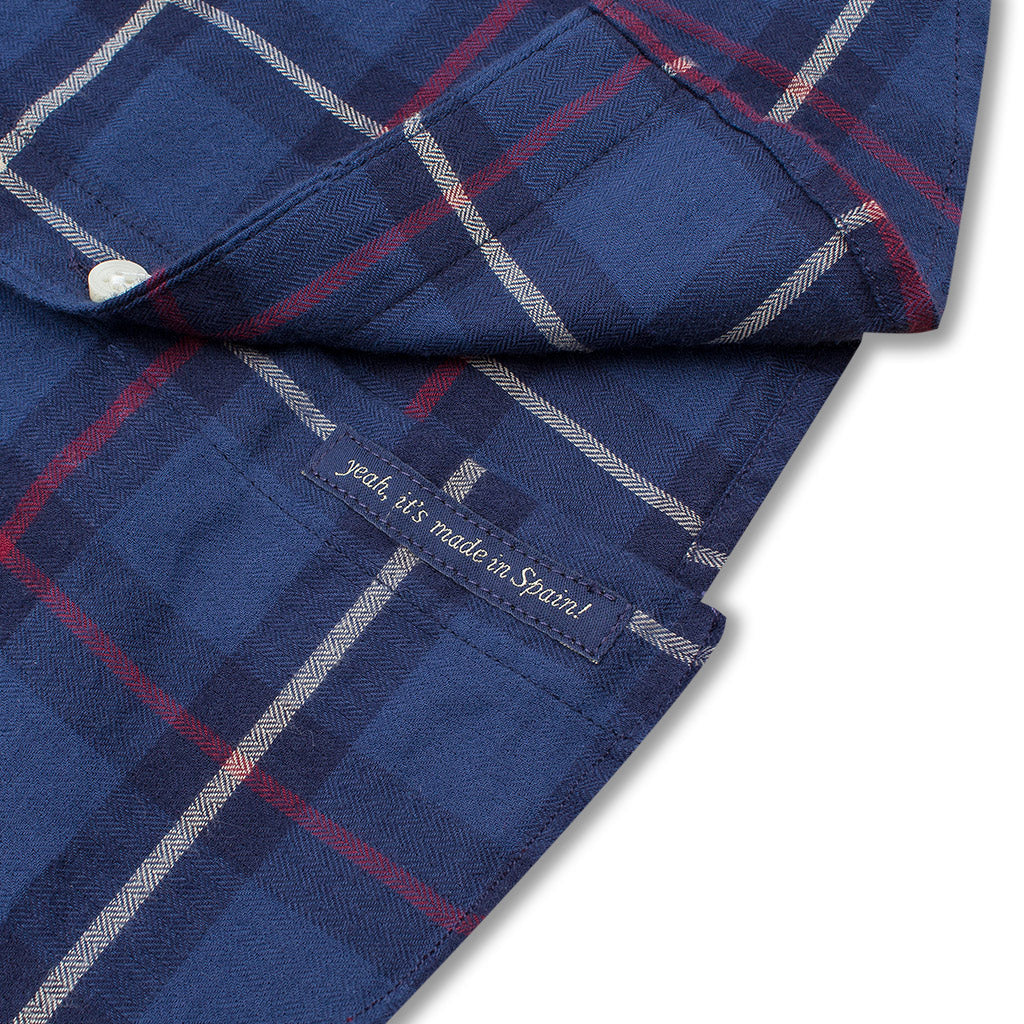 ROAD SHIRT LUMBER BLUE