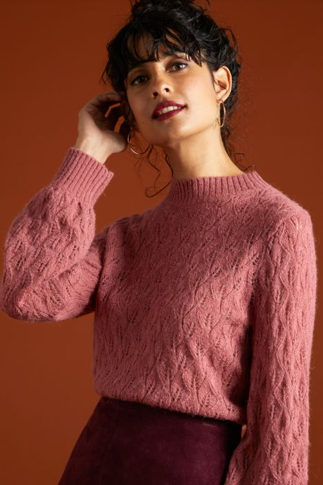 JEANNIE SWEATER PINK
