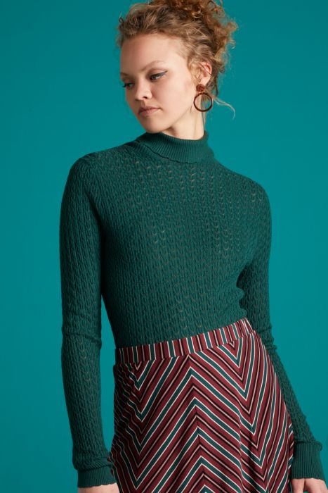 SOLO SWEATER GREEN