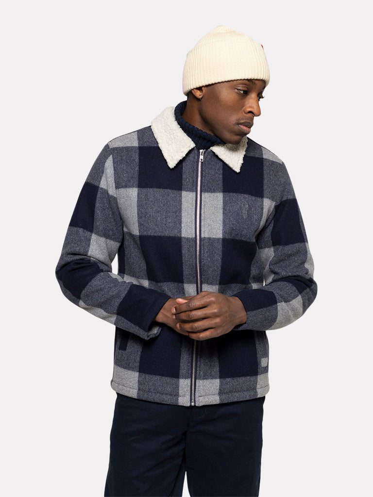 OVERSHIRT BLUE CHECK