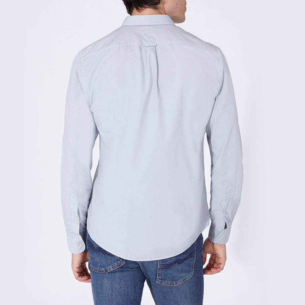 TERRY SHIRT SOLID LIGHT GREY