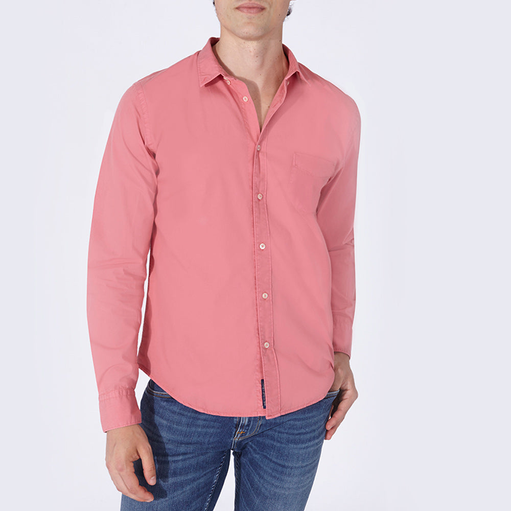 TERRY SHIRT SOLID RED