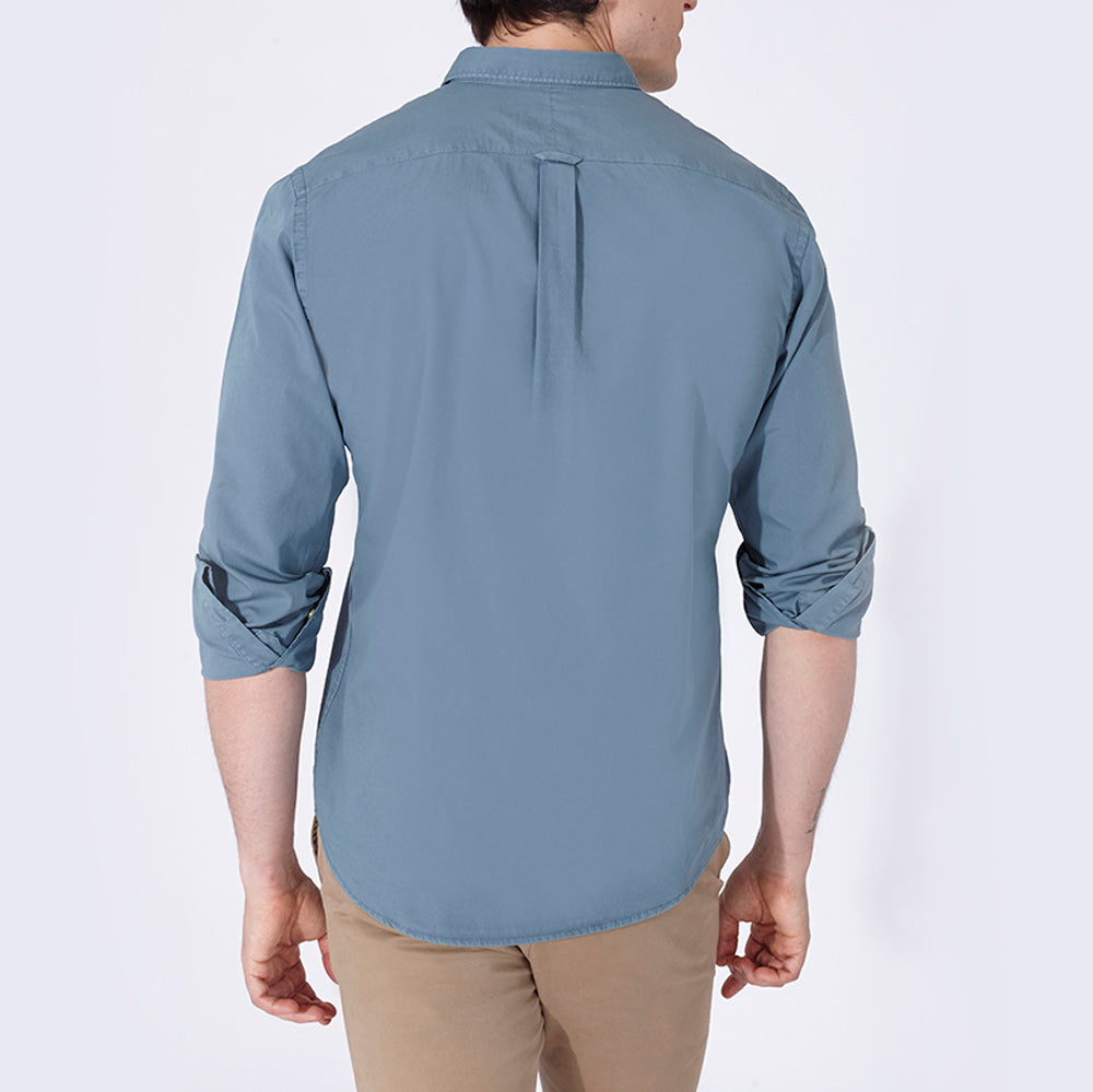 TERRY SHIRT SOLID LAGOON