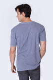 ANTIGENTLEMAN T-SHIRT WASHED BLUE