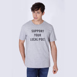 SUPPORT T-SHIRT GREY